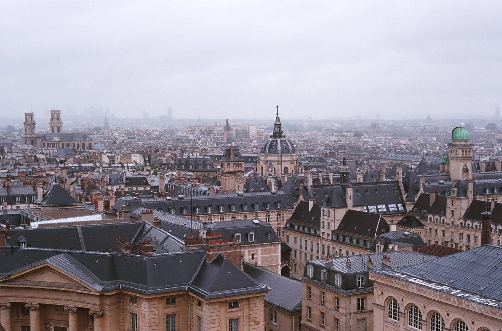 Paris, vu du Panthéon